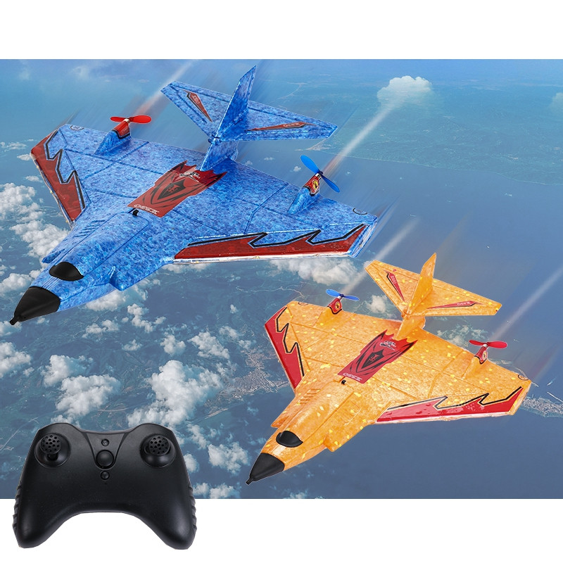 Mini X320 320mm Wingspan EPP Mini RC Airplane RTF 2.4Ghz GYRO J11 Park Plane with Remote Controller LED Battery Outdoors Plane