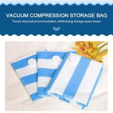 Вакуумная сумка для хранения ПА ПЭ, компрессионная сумка, посылка, домашняя одежда, удобное вакуумное сжатие, сумка, экономия пространства, для путешествий, практичная