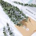 10 шт. букет из натуральных листьев эвкалипта, стебли, сушеные цветы, настоящая палатка для домашнего декора, свадебное украшение, товары Веч...