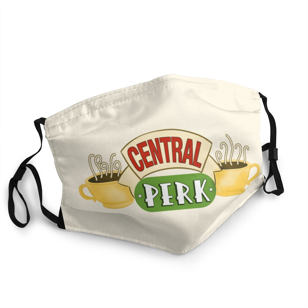 Central Perk Friends Adult Reusable Face Mask TV Show Anti Haze Dust Protection Cover Respirator