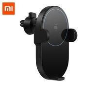 100% Original Xiaomi Mi 20W Max Qi Wireless Car Charger WCJ02ZM with Intelligent Infrared Sensor Fast Charging Car Phone Holder