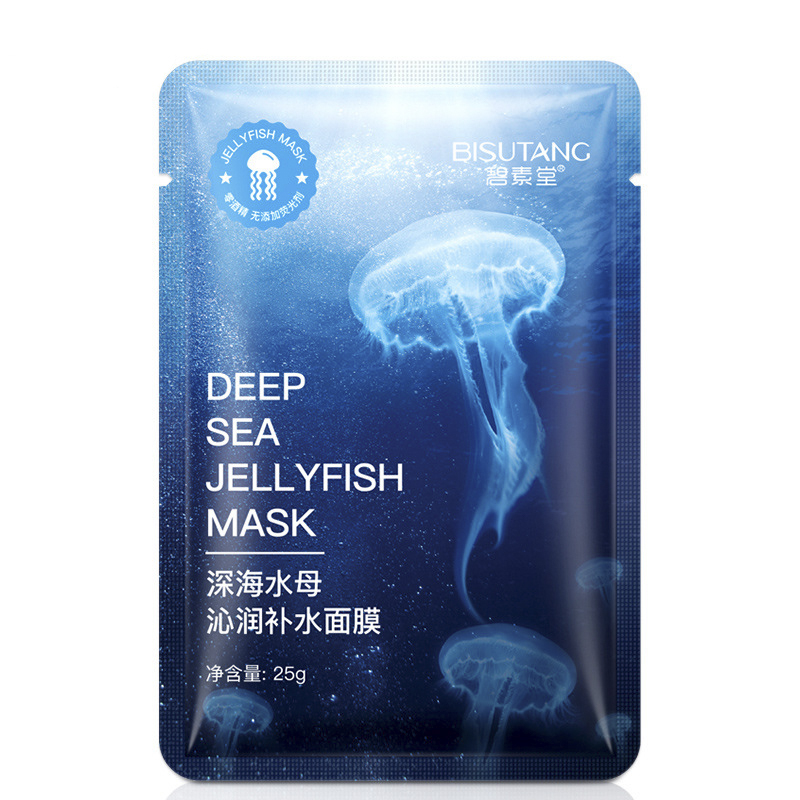 Deep-sea Jellyfish Mask Moisturizing Water Nourishment To Keep Moist And Smooth Skin Mask Skin Care