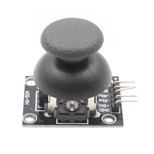 5 Pin Breakout Module Shield для Ps2 джойстик игровой контроллер 2,54 мм Pin двусторонний рокер 10K резистор для Arduino Diy Kit-Лидер продаж