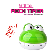 Timing-Machine Steaming Mechanical Kitchen-Timer Countdown Animal-Design 55-Minutes Cartoon
