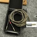 4 pin Xlr 4.4 2.5mm16 Cores Headphone Earphone Cable For 3.5 Hifiman Ananda sundara HE1000se HE6se he400 Z7M2