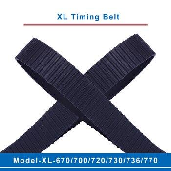 Ремень ГРМ XL model-670XL/700XL/720XL/730XL/736XL/770XL шаг зубьев ремня 5,08 мм ширина 10/15 мм для шкива ГРМ XL