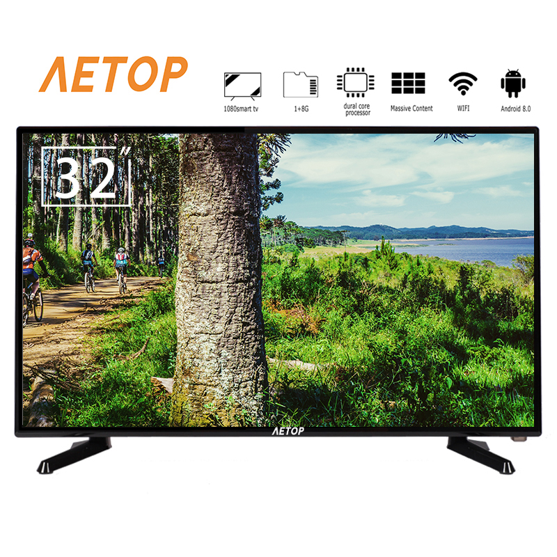 Free shipping – AETOP 1080P android 8.0 crt tv 2k mini smart tv led flat screen television