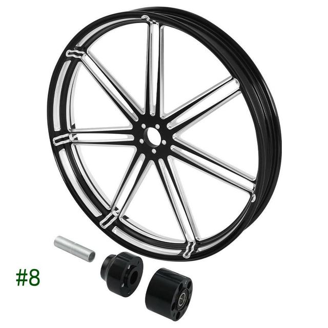 "Motorcycle 26"" x 3.5"" Front Wheel 3"