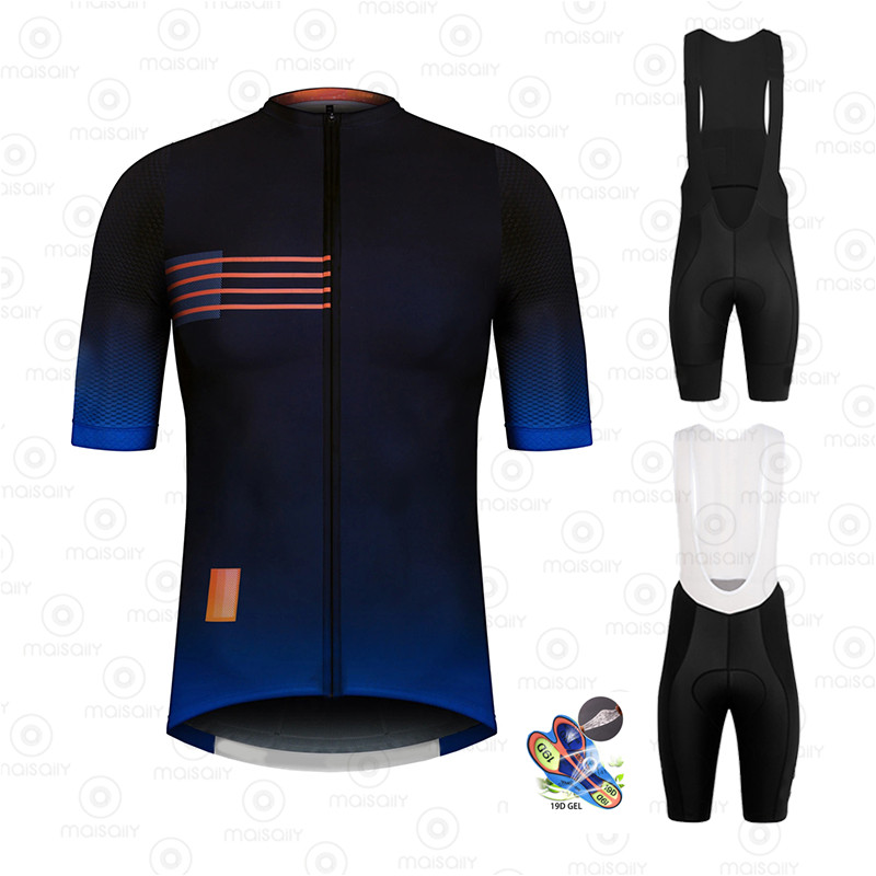 2020 Pro Team Men's Racing Cycling Suits Tops Triathlon Pro <font><b>Bike</b></font> <font><b>Wear</b></font> Quick Dry Jersey Ropa Ciclismo Cycling Clothing Sets image