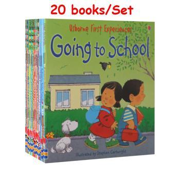 20 книг/12 книг для 1 комплекта, Детские Usborne Story, книги для картин, фермерские сказки, Детские известные английские книги, детские образователь...