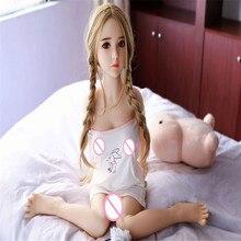 セックス人形 100 センチメートル 09 # フル tpe とスケルトン大人の大人のおもちゃ膣リアルな猫現実的なセクシーな男性のための大人のおもちゃ