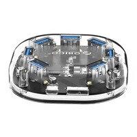 7 Ports USB3.0 Transparent HUB High Speed With Micro USB Power Interface Be applicable Macbook,Mac Linux Chrome OS , H7U U3