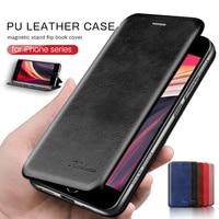 Per iphone se 2020 custodia flip custodia in pelle per iphone 12 mini phone 11 pro xs max xr x 6 7 8 plus supporto magnetico libro coque cover
