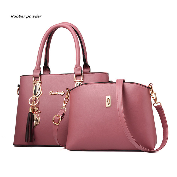 H086938f4557e4ed8bc390162cda57cd4s - Fashion Woman Bag Female Hand Tote Bag Messenger Shoulder Bag  Lady HandBag Set Luxury Hand bag composite bag  bolsos