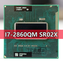 Intel Core I7 2860QM SR02X işlemci i7 2860QM dizüstü bilgisayar CPU soket G2 rPGA988B için uygun HM65 75 76 77 yonga seti dizüstü bilgisayar