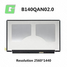 Tela de LCD para thinkpad T490 20N2 20N3 painel LCD 14.02560*1440 IPS 40pin Glare LPM140M420 B140QAN02.0 00NY679 01YU646 00NY680