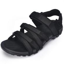 Charming 2018 Men Gladiator Male Shoes Buckle Platform Wedges Summer Sandals Flip Flops Schoenen Vrouw Slippers