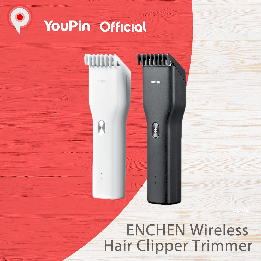 Youpin ENCHEN Wireless Hair Clipper Trimmer rechargeable Cutting Machine Beard Electric Man Kid Ceramic Cutter TypeC QuickCharge Hair Clippers  - AliExpress