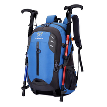 40L Outdoor Waterproof Climbing Backpack Sports Bag Camping Cycling Travel Trekking Bag Men Women Sports Rucksack waterproof climbing backpack rucksack 18l outdoor sports bag travel backpack camping hiking backpack women trekking bag for men