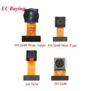 Image 1 - מיני OV7670 OV2640 OV5640 AF מצלמה מודול CMOS תמונה חיישן מודול 2 מיליון 500W פיקסל רחב זווית מצלמה צג Identificatio