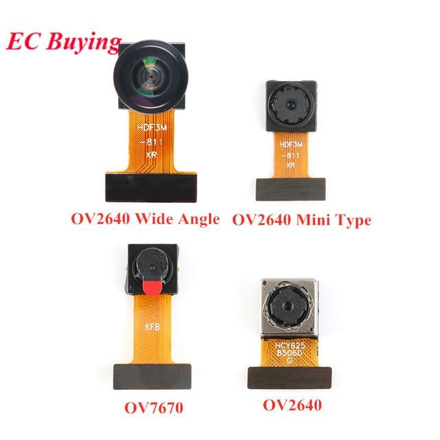 מיני OV7670 OV2640 OV5640 AF מצלמה מודול CMOS תמונה חיישן מודול 2 מיליון 500W פיקסל רחב זווית מצלמה צג Identificatio