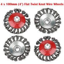4 предмета в комплекте с круглым винт узловой twist knot wire