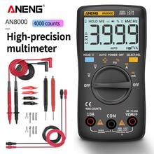 цена на ANENG AN8000 Digital Multimeter 4000 Counts Backlight AC/DC Ammeter Voltmeter Ohm Portable Meter
