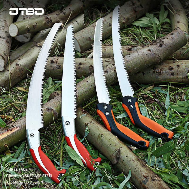1PC Folding Pruning Saw Triple Cut Garden Hand Pruner Tree Hedge Trimming