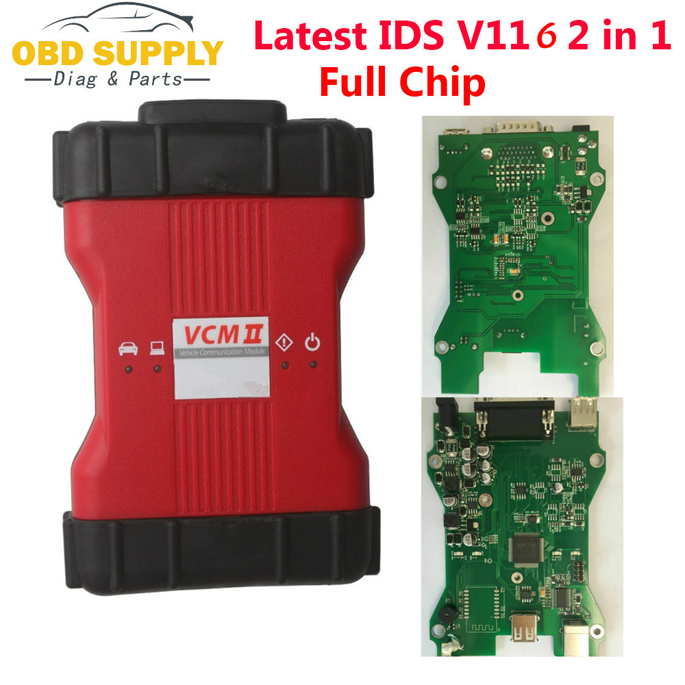 VCM II VCM2 Full Chip Vehicles Scanner For Ford VCM2 IDS V116 Mazda VCM2 IDS V116 Diagnostic Tool 2 In 1