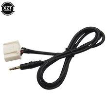 20 контактов 3,5 мм аудио AUX штекер интерфейс MP3 плеер кабель для Toyota & Camry/Corolla /Reiz/RAV4 /Highlander
