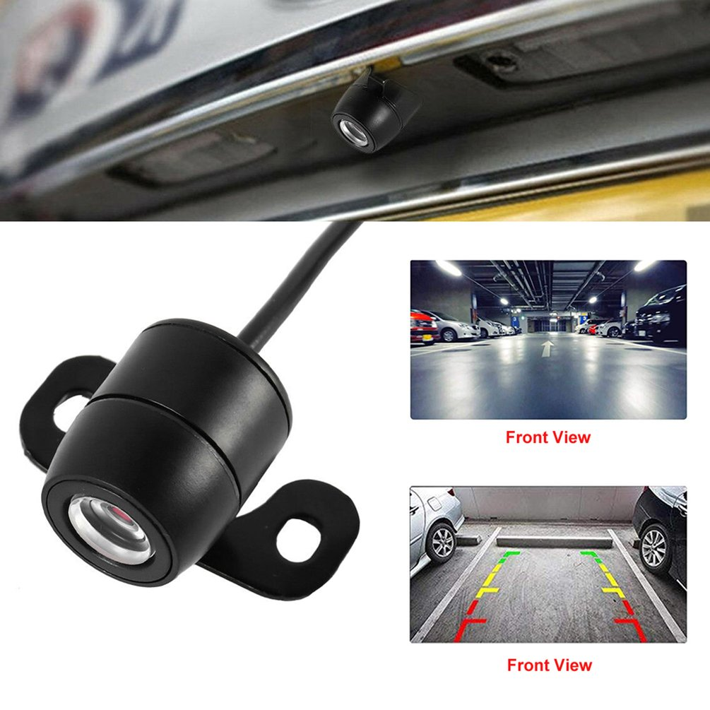 170 Degree Hd Camera Cmos Car Rear / Front / Side View Reversing Camera Waterproof Car Rear Hd Back Pull Camera