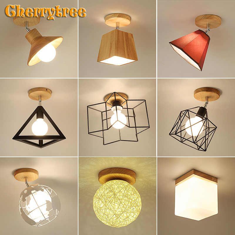 Luminária moderna para teto, sala de estar, decoração nórdica, decoração de casa, lâmpada de teto, para quarto e cozinha, luminárias para focos