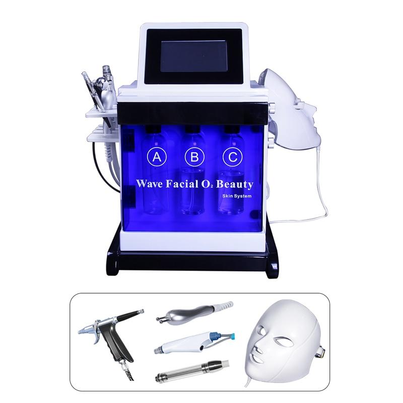 Hydrafacial Aqua Facial Peel Microdermabrasion Maquina Hidrodermoabrasion Diamond Peel Machine Led Beauty Cleansing  Device