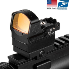 Tactical DP Pro Style Red Dot Reflex Sight Scope With Picatinny Mounts For Pistol Airsoft 1911 1913