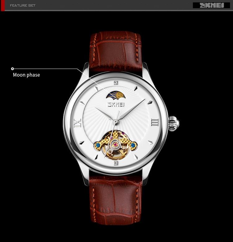 masculino relógios de pulso pulseira de couro