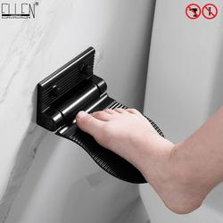 Ellen Shower Foot Rest Bathroom Pedals Non-slip Shower Footstool Pedestal Pedals Elderly Pregnant Bath Stool Black EL802