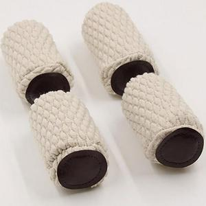 4 Pcs/set Reduce Noise Knitting Anti-slip Furniture Socks Reliable Thicken Floor Protector Solid Chair Legs Table