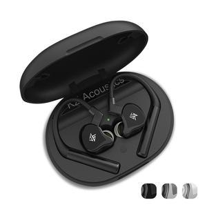 Image 5 - KZ E10 1BA+4DD True Wireless Hybrid Driver HiFi Bluetooth 5.0 Aptx Earbuds In Ear Stereo earphones with Built in HD Mic
