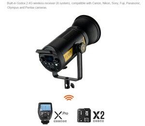 Image 3 - Godox FV150 150 واط FV200 200 واط عالية السرعة مزامنة فلاش مصباح ليد مع المدمج في 2.4 جرام استقبال لاسلكي + Xpro التحكم عن بعد Godox