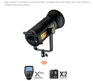 Image 3 - Godox FV150 150W FV200 200W High Speed Sync Flash LED Light with Built in 2.4G Wireless Receiver +Xpro Remote Control Godox