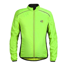 Rain-Jackets Bicycle Breathable Waterproof Reflective Sports Outdoor Men Long-Sleeve