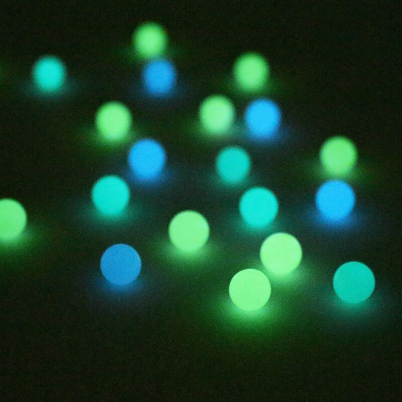 OD 6mm Luminous Terp Pearls Ball Terp Pearl For Quartz Banger Nails Glass Bongs 1