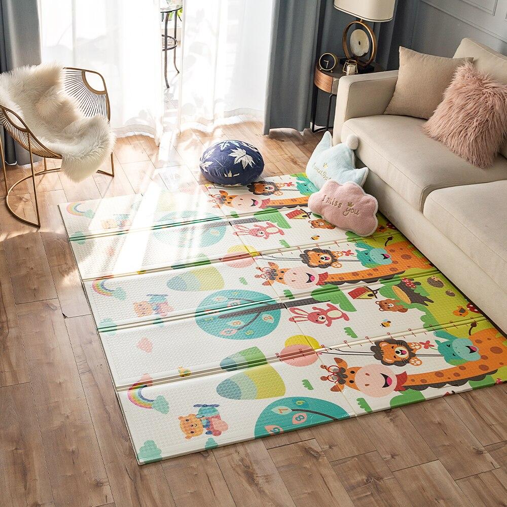 XPE enfants tapis Puzzle sol ramper tapis enfants jouer tapis bébé jouet tapis pour enfants épaissi imperméable couverture pour chambre de bébé