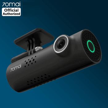 70mai kamera na deskę rozdzielczą wideorejestrator samochodowy Wifi APP sterowanie głosem 70 Mai kamera na deskę rozdzielczą 1S FHD 1080P Night Vision kamera samochodowa kamerka samochodowa g-sensor tanie i dobre opinie CN (pochodzenie) MSC8336D Przenośny rejestrator Klasa 10 Built-in 240mAh Li-polymer Battery 105 °-140 ° Samochód dvr