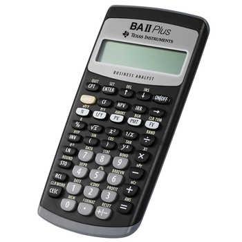 Hot Sale Ti BAII Plus 12 Digits Plastic Led Calculatrice Calculadora Financial Calculations Students Financial Calculator