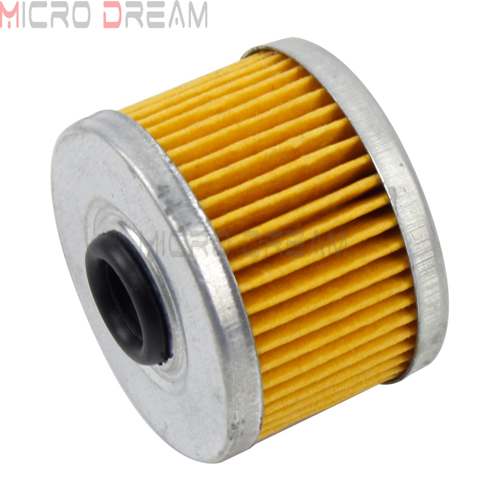ATV & Motorcycle Yellow Air Filter Intake for Honda XL CBF VT 125 250 <font><b>ATC</b></font> TRX 250 350 <font><b>400</b></font> 420 500 Side X Side 500 Air Cleaner image