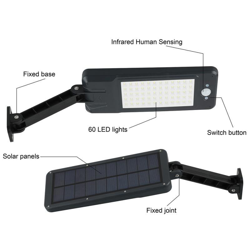 luz de rua pir sensor de movimento