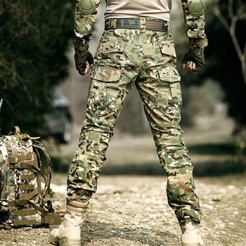 Spodnie taktyczne wojskowe bojówki wojskowe Cargo z kneepadami Outdoor Working campat spodnie męskie spodnie policja Aisoft polowanie spodnie kamuflażowe tanie i dobre opinie CN (pochodzenie) Pasuje prawda na wymiar weź swój normalny rozmiar Bawełna poliester Camouflage Frog suit