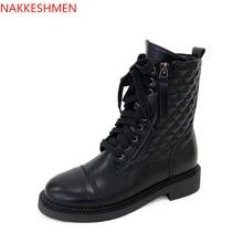 Новинка; Ботинки martin и обувь для девочек на среднем каблуке; Сезон Зима;