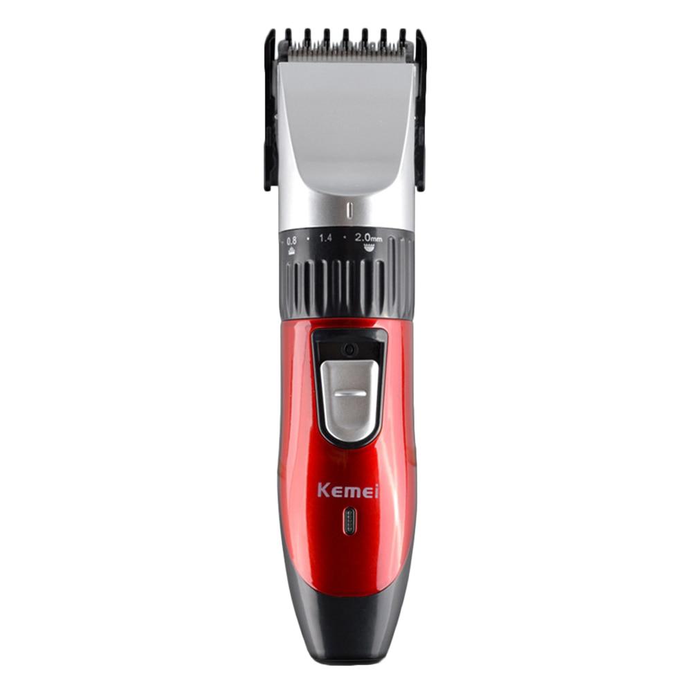 Super Quiet Professional Electric Hair Clipper Rechargeable Titanium Blade Men's Beard Trimmer Hair Cutting Machine For Salon